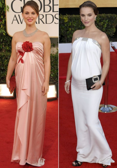 Natalie Portman - Stylish Celebrity Baby Bumps - Natalie Portman Pregnant - Natalie Portman Baby - Benjamin Millepied - Celebrity - Marie Clarie - Marie Claire UK