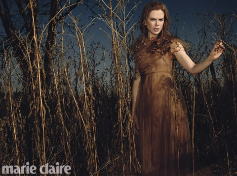 Nicole Kidman Marie Claire March Cover Star