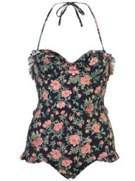 Topshop vintage floral one-piece - Fashion Buy of the Day, Marie Claire