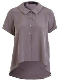 Miss Selfridge mink dippy hem shirt - Fashion Buy of the Day, Marie Claire