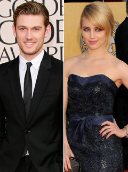 Dianna Agron engaged to alex pettyfer