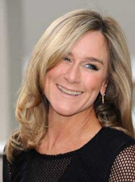 Burberry chief exec, Angela Ahrendts