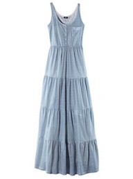 H&M flared maxidress - Fashion Buy of the Day, Marie Claire
