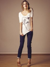 Reiss Loveheart printed t-shirt - Fashion Buy of the Day, Marie Claire