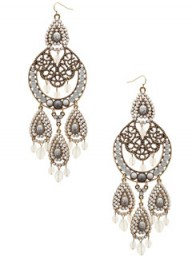 Freedom mega-bead chandelier earrings - Fashion Buy of the Day, Marie Claire