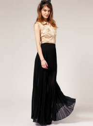 ASOS pleated maxi skirt - Fashion Buy of the Day, Marie Claire