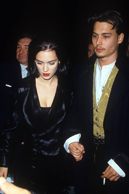 when did johnny depp and winona ryder start dating