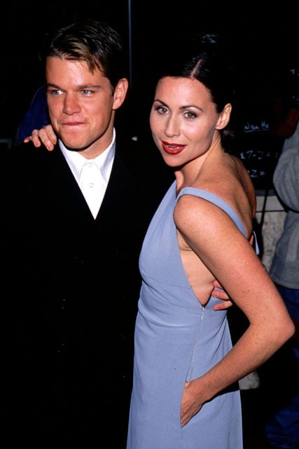 Hollywood's Forgotten Couples - Matt Damon and Minnie ...