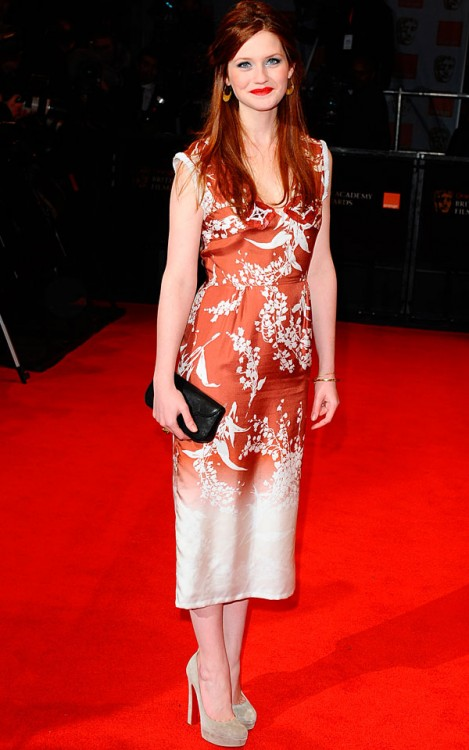 Bonnie-Wright-BAFTAs 2011-British Academy Film Awards-Celebrity Photos ...