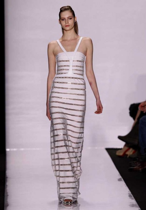 Herve Leger by Max Azria Autumn Winter 2011