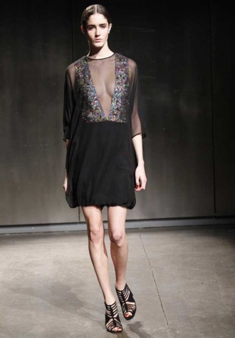 Halston Autumn Winter 2011
