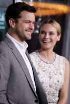 Joshua Jackson and Diane Kruger at the Unknown premiere in LA