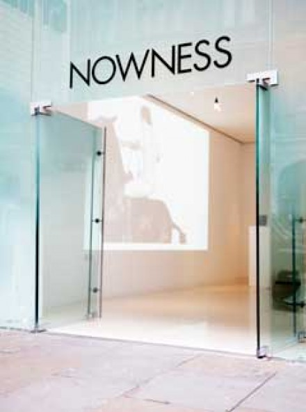 Nowness pop up at St Martins Lane