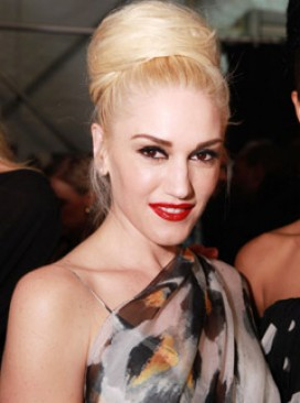 Gwen Stefani - LAMB, L.A.M.B, show, New York Fashion Week, front row, autumn/winter 2011, Marie Claire