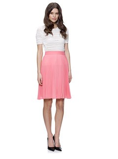 Whistles Carrie Pleat Skirt
