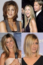 Jennifer Aniston's hair history
