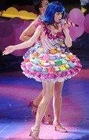 Katy Perry California Dreams tour - see, pics, pictures, stage, world, Teenage Dream, costumes, candy, sweets, singing, celebrity, Marie Claire