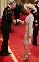 Prince Charles and Catherine Zeta-Jones - Catherine Zeta-Jones awarded CBE, Prince Charles, Buckingham Palace, honour, celebrity, news, Marie Claire