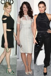 Elzabeth Banks, Kristin Davis and Eva Longoria at the Tom Ford store opening
