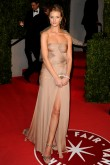 Rosie Huntington-Whiteley at the Vanity Fair post-Oscars party 2011