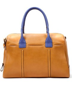 Zara two-tone bowling bag - Fashion Buy of the Day, Marie Claire