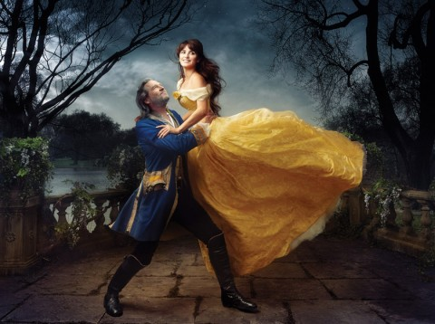 Penelope Cruz and Jeff Bridges Disney Fairytale photographs by Annie Leibovitz