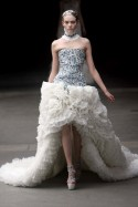 Alexander McQueen Autumn/Winter 2011 - Paris Fashion Week, shows, Sarah Burton, royal, wedding, bridal, inspired, Marie Claire