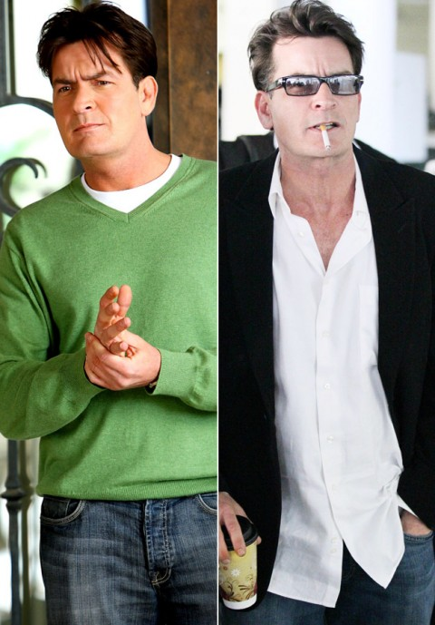 Charlie Sheen - Celebrity Meltdowns - Celebrity Breakdowns - Celebrity - Marie Claire - Marie Claire UK