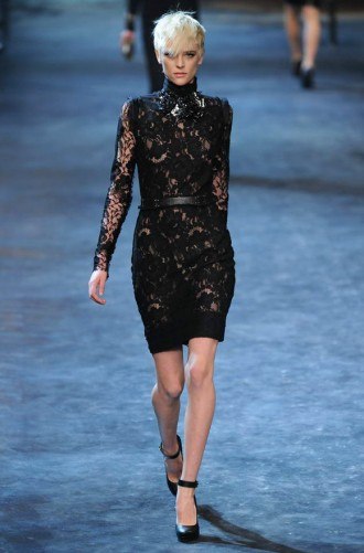 Lanvin Autumn Winter 2011 Catwalk Photos