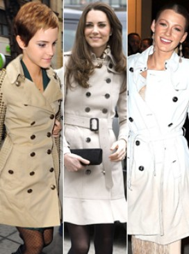 Emma Watson, Kate Middleton and Blake Lively - Who wore Burberry best?
