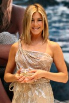 Jennifer Aniston at her fragrance launch in Mexico City