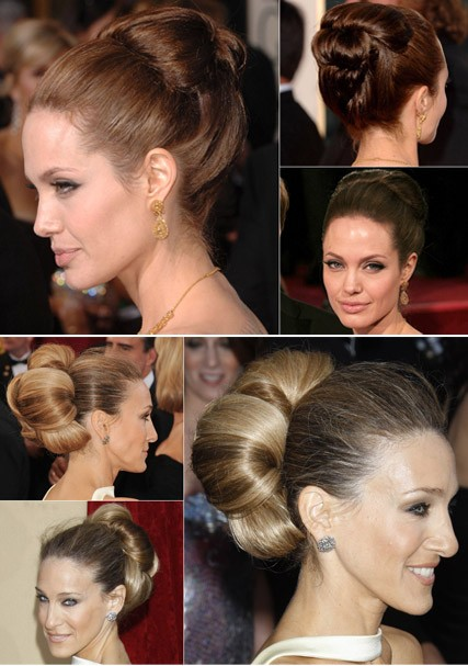 Best A-list Updos - Celebrity, hair, Marie Claire