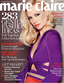 Mad Men Star January Jones for Marie Claire May 2011