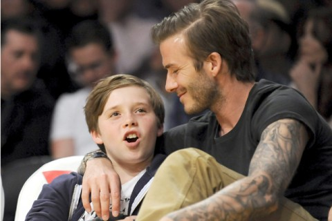 Brooklyn and David Beckham - what the stars got up to over the weekend