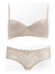 Emporio Armani Gardenia bra and briefs - Fashion Buy of the Day, Marie Claire