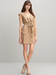 Banana Republic silk flounce dress - Fashion Buy of the Day, Marie Claire