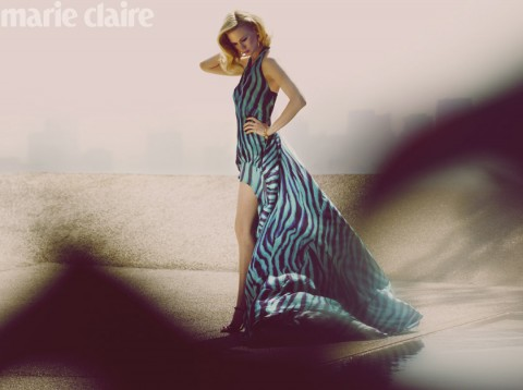 January Jones Marie Claire Photo Shoot May 2011, Betty Draper, Mad Men