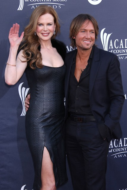 Nicole Kidman and Keith Urban at the Country Music Awards 2011