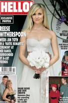 Reese Witherspoon wedding - wedding dress - wedding photos
