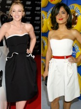 Salma Hayek vs Kylie Minogue - Who wore it best?