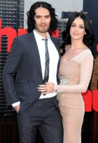 Russell Brand and Katy Perry - Russell Brand - Katy Perry - Helen Mirren - Arthur Premiere - Arthur - Marie Claire - Marie Claire UK