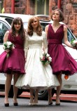 Keira Knightley as Bridesmaid at the Wedding of Caleb Knightley and Kerry Nixon