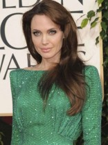 Angelina Jolie at Golden Globes