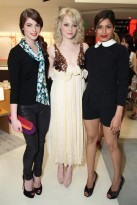 Ashley Greene, Emma Stone and Freida Pinto at Louis Vuitton party