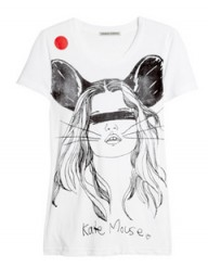 Simeon Farrar for Japan Kate Mouse T-shirt