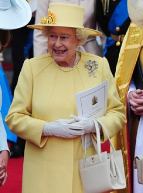 The Queen sparks handbag sales surge following Royal Wedding
