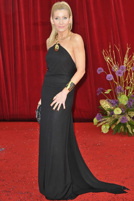Michelle Collins at the British Soap Awards 2011