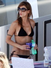 Elisabetta Canalis - PICS! Elisabetta Canalis' superyacht fun in the sun - Elisabetta Canalis Cannes - George Clooney - Roberto Cavalli - Yacht - Marie Claire - Marie Claire UK