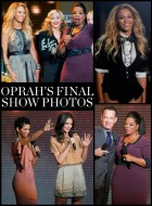 Oprah Winfrey's star-studded final show