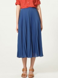 Zara accordion pleat skirt